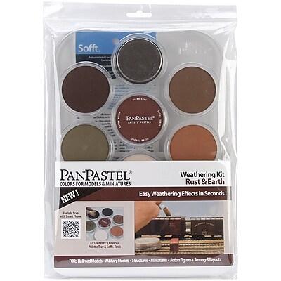 Colorfin PanPastel 9 ml. Ultra Soft Painting Pastel Set, 9/Pack (PP30701)