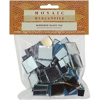 Mosaic Mercantile Square Assorted Mirrored Glass Tile