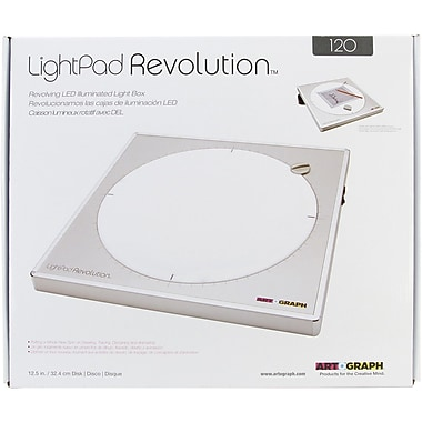 Artograph® LightPad Revolution™ 120 LED Light Box, 12 3/4