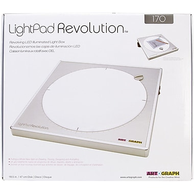 Artograph® LightPad Revolution™ 170 LED Light Box, 18 1/2