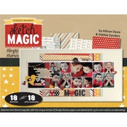 Scrapbook Generation Sketch Magic With... Craft Book By Allison Davis and Debbie Sanders