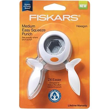 Fiskars® Squeeze Punch, Medium Hexagon, 1