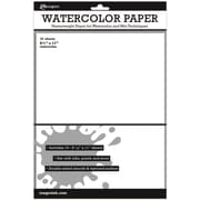 "Ranger 8 1/2"" x 11"" Surfaces Watercolor Paper, 10 Sheets/Pack"