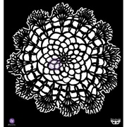 "Prima Marketing™ 12"" x 12"" Elementals Stencil, Doily"