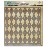 "Prima Marketing™ 12"" x 12"" Elementals Stencil, Harlequin"