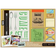 K&Company SMASH Tasty Journal Folio Gift Set, 40 Pages