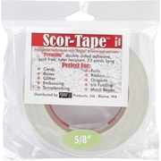 "Scor-Pal™ 5/8"" x 27 yds. Double Sided Adhesive Tape"