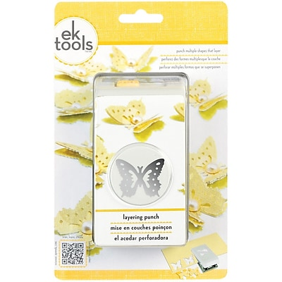EK Success® Layering Punch, Butterfly, 1 1/2