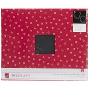 "American Crafts™ Cloth D-Ring Album, 12"" x 12"", Cardinal"
