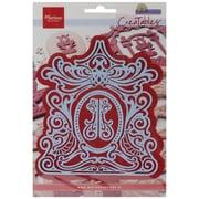 "Ecstasy Crafts® Marianne Designs Collectables 4 1/4"" x 5 1/8"" Die, Petra's Mirror"