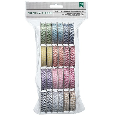 American Crafts™ Baker's Twine 12 Bright Colors Value Pack, 24/Pack