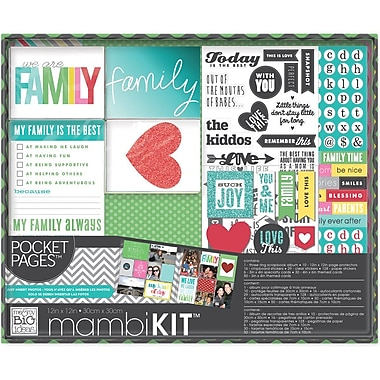Me & My Big Ideas® Pocket Pages™ Today Is The Best Boxed Album Kit, 12