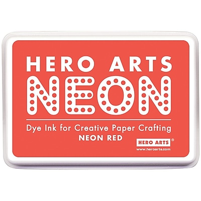 Hero Arts® Neon Ink Pad, Red