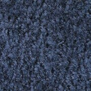 Andersen Colorstar Plush Nylon Indoor Wiper Mat, 4' x 8', Deeper Navy with Cleated Backing