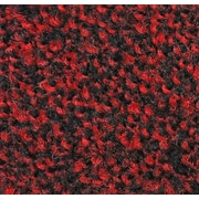 Andersen Colorstar Plush Nylon Indoor Wiper Mat, 3' x 5', Red Pepper with Cleated Backing