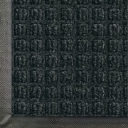 Andersen Waterhog Classic Polypropylene Indoor Floor Mat, 3' x 20', Charcoal with Cleated Backing