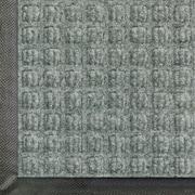 Andersen Waterhog Classic Polypropylene Indoor Floor Mat, 6' x 20', Medium Gray with Cleated Backing