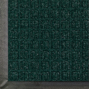 Andersen Waterhog Classic Polypropylene Indoor Floor Mat, 3' x 20', Evergreen with Cleated Backing