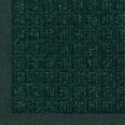 Andersen Waterhog Fashion Polypropylene Indoor Floor Mat, 4' x 10', Evergreen with Cleated Backing