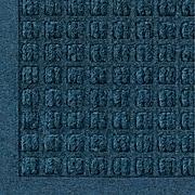 "M+A Matting Waterhog Fashion Polypropylene Cleated Backing Indoor Mat 72"" x 48"", Navy Blue (280610046070)"