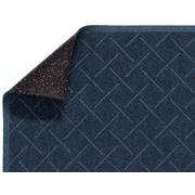 """Andersen Enviro Plus PET Polyester Indoor Mat 60"""" x 36"""", Indigo"""