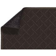 M+A Matting Enviro Plus PET Polyester Indoor Wiper Mat, 6' x 20', Chestnut Brown (2202750620)