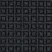"Andersen Eco Select PET Polyester Indoor Mat 36"" x 24"", Black Smoke"