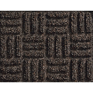 Andersen Waterhog Masterpiece Select Polypropylene Indoor Wiper Mat, 4' x 6', Nutmeg with Cleated Backing