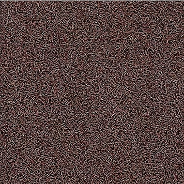 Andersen Hog Nylon Entrance Mat with Cleated Backing, 3' x 5', Brown (395030035100)