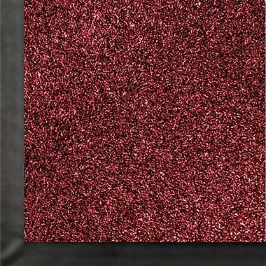 Anderson Impressionist Olefin Fiber Indoor Floor Mat, 3' x 60', Cardinal