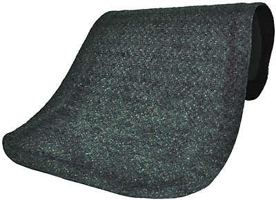 Anderson Hog Heaven Plush Nylon Interior Floor Mat, 3' x 12' , Confetti Gray