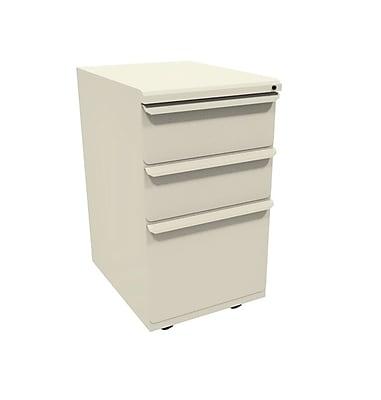 Marvel Zapf 3 Drawer Mobile/Pedestal File, Putty/Beige,Letter/Legal, 15''W (762805303051)
