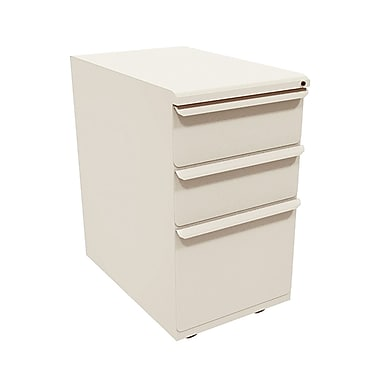 Marvel Zapf 3 Drawer Mobile/Pedestal File, Putty/Beige,Letter/Legal, 15''W (762805304058)