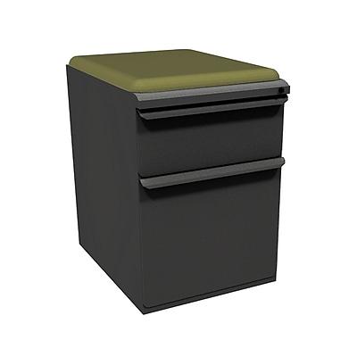Marvel Zapf 1 Drawer Mobile/Pedestal File, Charcoal,Letter/Legal, 15''W (762805003760)