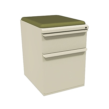 Marvel Zapf 2 Drawer Mobile/Pedestal File, Putty/Beige,Letter/Legal, 15''W (762805003777)