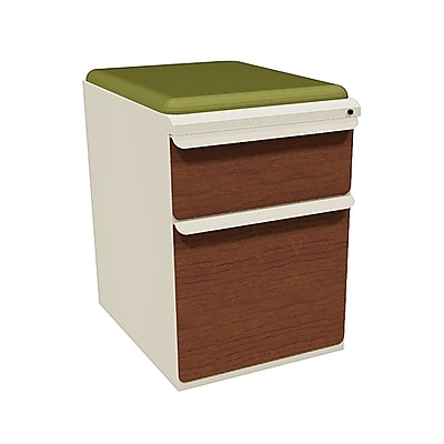Marvel Zapf 2 Drawer Mobile/Pedestal File, Cherry,Letter/Legal, 15''W (762805003852)