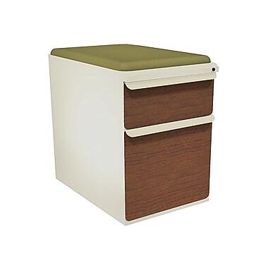 Marvel Zapf 2 Drawer Mobile/Pedestal File, Cherry,Letter/Legal, 15''W (762805003944)