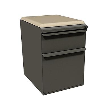 Marvel Zapf 1 Drawer Mobile/Pedestal File, Charcoal,Letter/Legal, 15''W (762805004002)