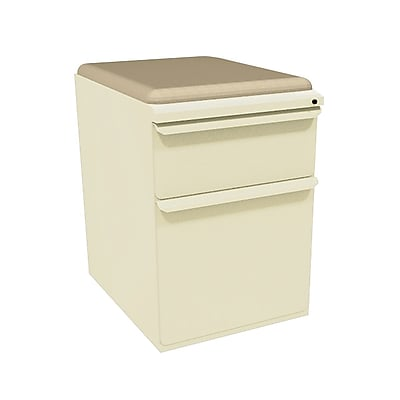 Marvel Zapf 2 Drawer Mobile/Pedestal File, Putty/Beige,Letter/Legal, 15''W (762805004019)