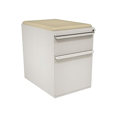 Marvel Zapf 2 Drawer Mobile/Pedestal File, Putty/Beige,Letter/Legal, 15''W (762805004057)
