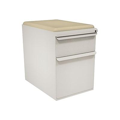 Marvel Zapf 2 Drawer Mobile/Pedestal File, Putty/Beige,Letter/Legal, 15''W (762805004057)
