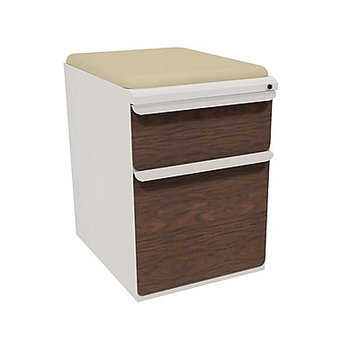 Marvel Zapf 2 Drawer Mobile/Pedestal File, Mahogany,Letter/Legal, 15''W (762805004132)