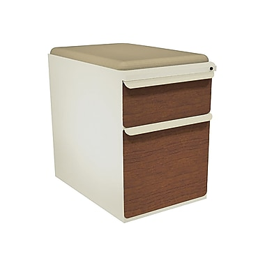 Marvel Zapf 2 Drawer Mobile/Pedestal File, Cherry,Letter/Legal, 15''W (762805004187)
