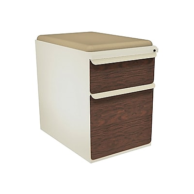 Marvel Zapf 2 Drawer Mobile/Pedestal File, Mahogany,Letter/Legal, 15''W (762805004194)