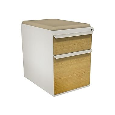 Marvel Zapf 1 Drawer Mobile/Pedestal File, Oak,Letter/Legal, 15''W (762805004231)