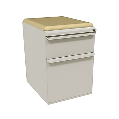 Marvel Zapf 2 Drawer Mobile/Pedestal File, Putty/Beige,Letter/Legal, 15''W (762805004262)