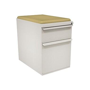 Marvel Zapf 2 Drawer Mobile/Pedestal File, Putty/Beige,Letter/Legal, 15''W (762805004293)