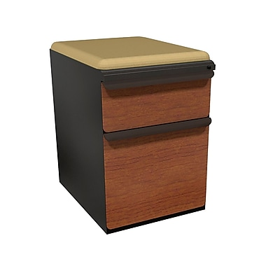 Marvel Zapf 2 Drawer Mobile/Pedestal File, Cherry,Letter/Legal, 15''W (762805004309)