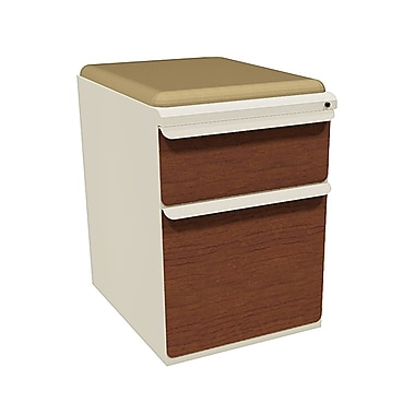 Marvel Zapf 2 Drawer Mobile/Pedestal File, Cherry,Letter/Legal, 15''W (762805004330)