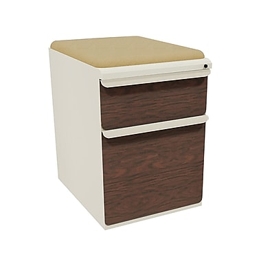 Marvel Zapf 2 Drawer Mobile/Pedestal File, Mahogany,Letter/Legal, 15''W (762805004583)